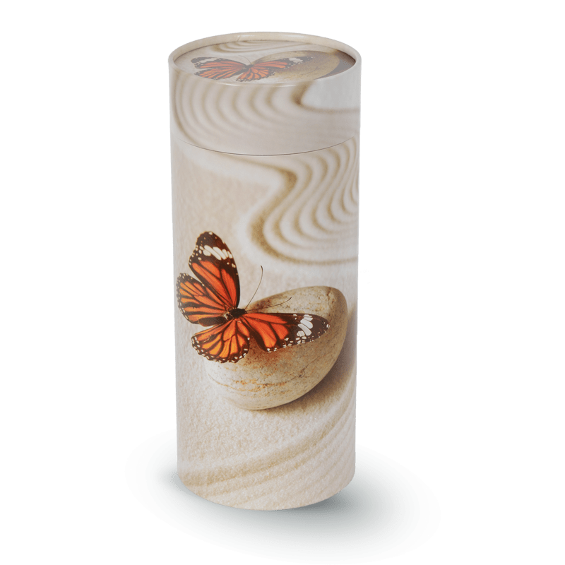 Urne papillon